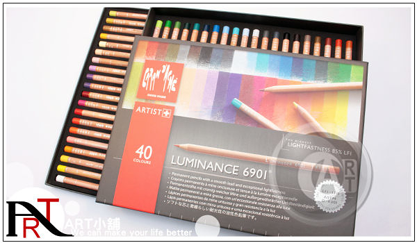 『ART小舖』瑞士CARAN D'ACHE卡達 極致專家級 油性色鉛筆 40色 #6901-740