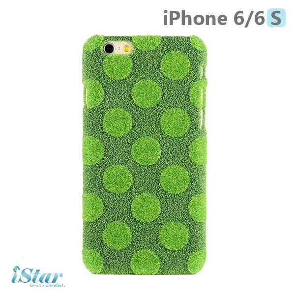 iPhone 6/6s 手機殼 日本 獨家代理 草地/草皮 硬殼 4.7吋 Shibaful -草地點點
