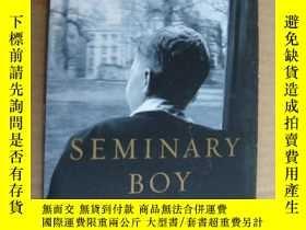 二手書博民逛書店Seminary罕見Boy: A Memoir 英文原版24開Y