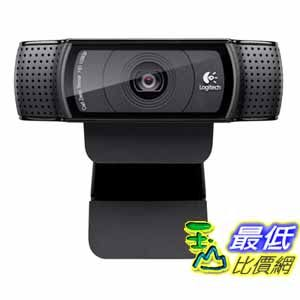 [網購退回只有1個] Logitech 攝像頭 HD Pro Webcam C920,1080p Widescreen Video Calling and Recording (960-000764)