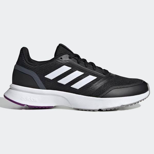 ★現貨在庫★ Adidas NOVA FLOW 女鞋 慢跑 休閒 透氣 柔軟 黑 【運動世界】 EH1377