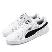 Puma 休閒鞋 Basket Tyakasha 白 黑 男鞋 女鞋 運動鞋 聯名 【PUMP306】 37012501