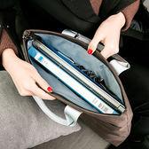 檔袋大容量防水手提A4文件包辦公商務會議資料袋男女橫款檔案袋    瑪麗蓮安