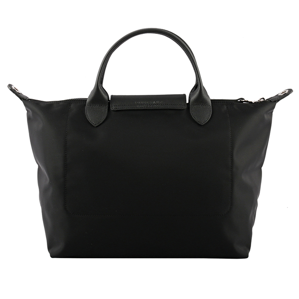 【LONGCHAMP】M號Le Pliage Neo厚款尼龍二用包(黑色) L1515 598 001