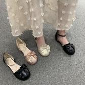 lolita鞋洛麗塔茶會小皮鞋子學生可愛日系少女中高跟蝴蝶結Lolita圓頭單鞋 衣間迷你屋