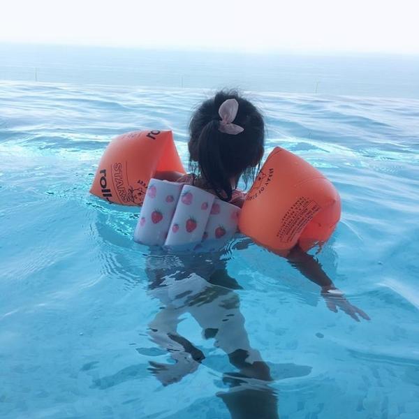 女童浮力泳衣兒童溫泉度假游泳衣小童泳裝寶寶泳衣女孩小孩1-3歲