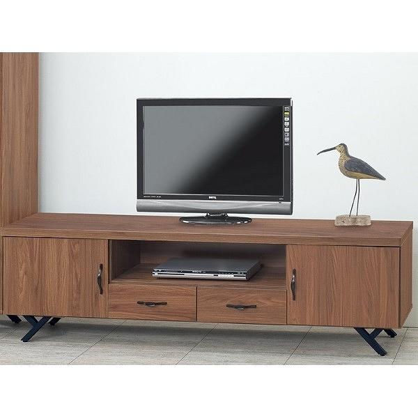 電視櫃 PK-420-4 胡桃6尺電視櫃【大眾家居舘】