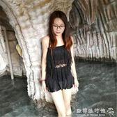 女神泳裝  游泳衣女保守學生韓國小清新新款泳衣分體遮肚性感比基尼兩件套裝 『歐韓流行館』