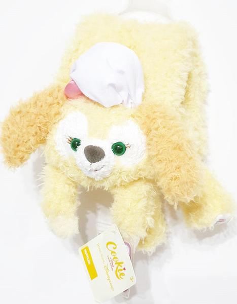 【現貨在台】廚師狗 cookie 【毛絨絨造型圍巾】香港代購 正版迪士尼樂園