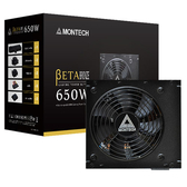 montech 君主 beta 650W 銅牌 80+ 電源供應器