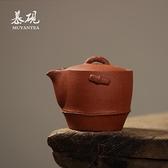 紫砂純手工竹韻寶瓶壺功夫茶具單壺創意蓋碗家用手抓壺wm