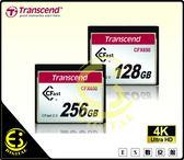 ES數位 Transcend  CFast 2.0 CFX650 128GB CF 記憶卡 128G  讀510MB 公司貨 4K錄影 贈讀卡機