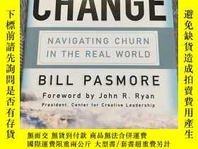 二手書博民逛書店Leading罕見Continuous Change: Navigating Churn in the Real