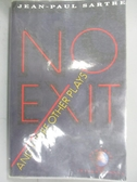 【書寶二手書T3/原文書_NIF】No Exit and Three Other Plays_Sartre, Jean-Paul