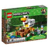 LEGO 樂高 Minecraft the Chicken Coop 21140 (198 Piece)