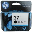 C8727AA HP 27 黑色墨水匣 適用 DJ3320/3325/3420/3535/3550/3650/3744/3745/3845/Officejet 4110/4255