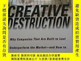 二手書博民逛書店Creative罕見Destruction Why Compan