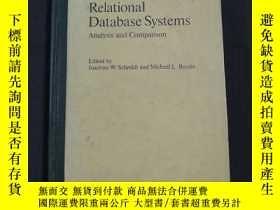 二手書博民逛書店Relational罕見Database Systems Analysis and Comparison(關系數據