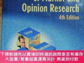 二手書博民逛書店ESOMAR罕見handbook of Market and Opinion Research 4th Editi