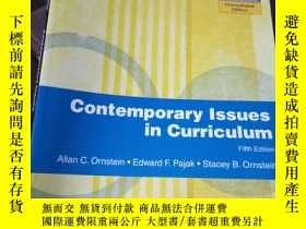 二手書博民逛書店Contemporary罕見Issues in Curricul