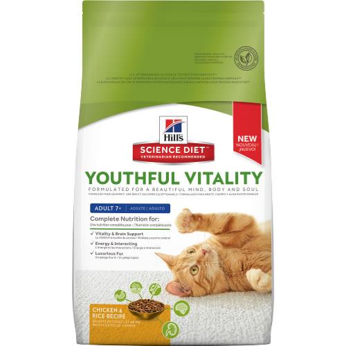 【寵物王國】希爾思-青春活力成貓7歲以上(雞肉)3.5磅(1.58kg)