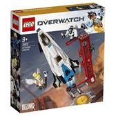 【LEGO樂高】Overwatch 鬥陣特攻 Watchpoint: Gibraltar #75975