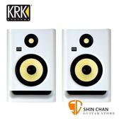 【缺貨】KRK Rokit RP5G4 主動式監聽喇叭/5吋錄音室專用(白色/一對二顆) 台灣公司貨保固
