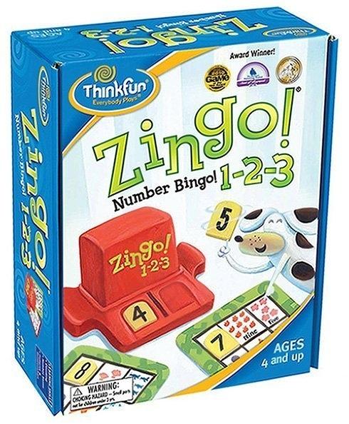 【上誼 信誼】【上誼 信誼】ThinkFun 數字賓果123←Zingo Number Bingo 123 益智桌上遊戲