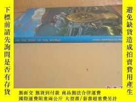 二手書博民逛書店1987年罕見精裝16開厚冊【Tibet on the Roof