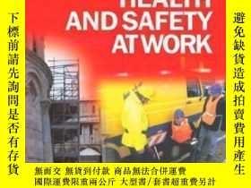 二手書博民逛書店Introduction罕見To Health And Safety At Work-工作健康與安全導論Y43