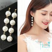 【Hera 赫拉】珍珠耳墜耳環-2色
