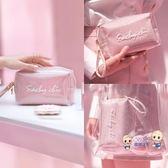 化妝包 化妝包女便攜小號收納品袋少女心2019新款透明隨身網紅風超火 5色
