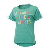 (B5) MIZUNO 美津濃 女短袖T恤 N2TA020237 松石綠 [陽光樂活]