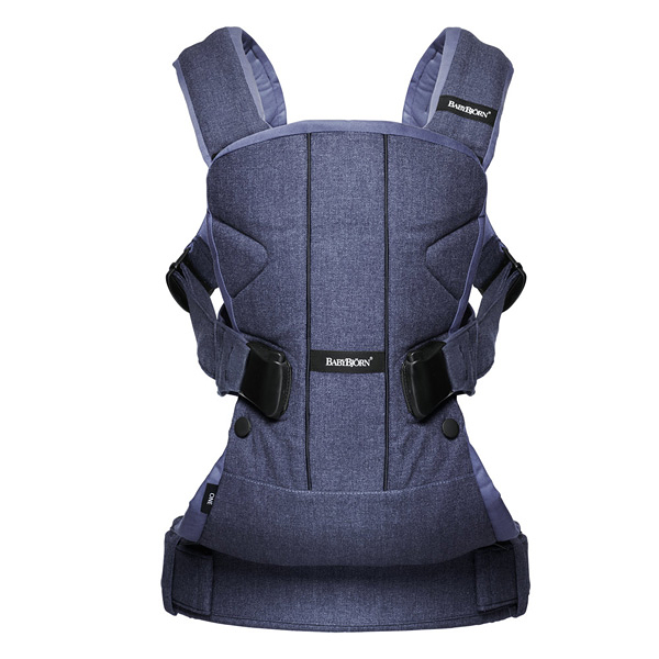 Baby Bjorn Baby Carrier One 新多功能抱嬰袋(亞洲版)牛仔