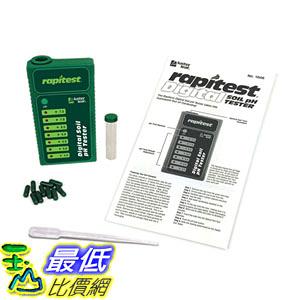 [106美國直購] 土壤測試儀 Luster Leaf 1606 Rapitest Digital Soil pH Tester