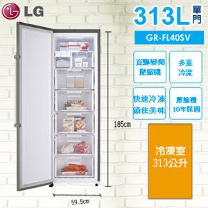 LG 樂金 冷凍 313公升 直驅變頻冷凍櫃(GR-FL40SV)