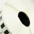 DK-22243 副廠連續標籤帶 (白底黑字) 102mm x 30.48M 塑芯 DK22243 標籤紙不含支架