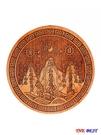 優一居 八卦鏡 19公分 桃木雕刻 山海鎮 八卦鏡 風水擺件 掛件 風水 家居飾品 旺運