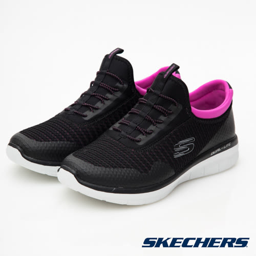SKECHERS (女) 運動系列 SYNERGY 2.0 - 12386WBKPK
