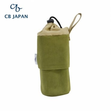 CB Japan 丹寧系列伸縮保冷手提壺袋-森林綠