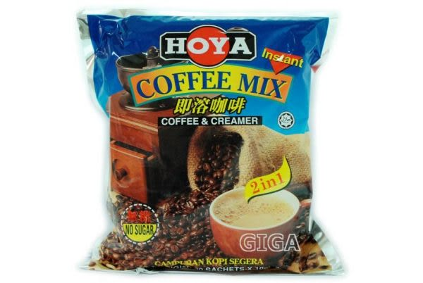 【吉嘉食品】HOYA二合一即溶咖啡 每包10公克*30小包175元[#1]{5E101-1}