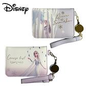 【日本正版】冰雪奇緣2 摺疊票卡夾 票夾 證件夾 悠遊卡夾 艾莎 Elsa 迪士尼 Disney 269993 270005
