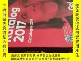 二手書博民逛書店【英文原版】Katalog罕見Catalogue 2017( 如圖)Y25633