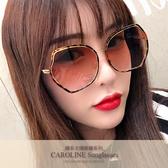 《Caroline》年度最新網紅款潮流百搭抗UV時尚太陽眼鏡 71928標檢局D74321
