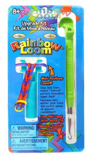 【酷樂寶colorbox】Rainbow Loom 彩虹編織-金屬編織鉤棒組-綠色
