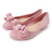 Petite Jolie 可愛麻花捲果凍娃娃鞋粉紅