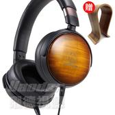 【曜德 送原木耳機架】鐵三角 ATH-WP900 火焰楓木 輕量型耳罩式耳機