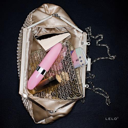 情趣用品按摩棒 超取免運送潤滑液 瑞典LELO-MIA 2 米婭二代 USB充電口紅式按摩器-粉