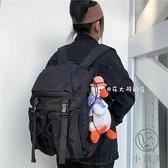 大容量電腦旅行後背包工裝風雙肩包女簡約潮流男【小酒窩服飾】