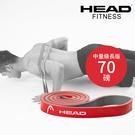 HEAD海德 雙色環狀阻力帶中量級長版寬2.1cm 天然乳膠阻力圈環狀阻力帶拉力帶 WELLCOME好吉康